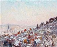 neige a rouen by isabelle de ganay