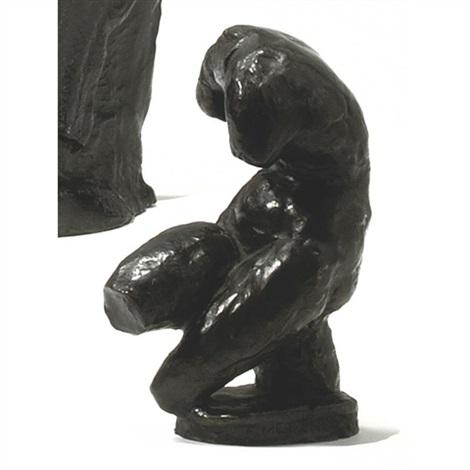 female torso by franz metzner