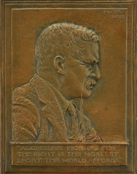roosevelt bas relief by james earle fraser