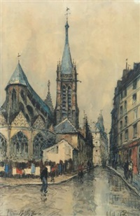 église, paris by frank-will