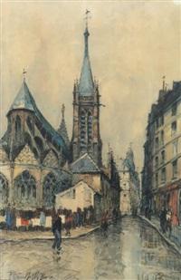 église, paris by frank-will