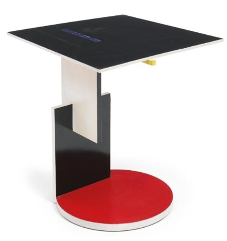 side table by gerrit thomas rietveld