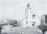 eglise, forcalquier by john davies
