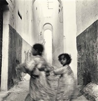 running children, morocco, rabat by irving penn