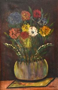 vase fleuri by mary fedden