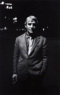 willem de kooning, new york, ny by robert frank