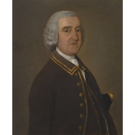 portrait of richard lowndes by thomas gainsborough