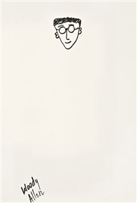 self-portrait by woody allen