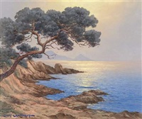 agay ,soleil levant by jean quilichini