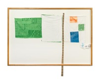 room service (from the airport series) by robert rauschenberg