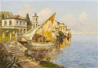 naples by gottfried arnegger