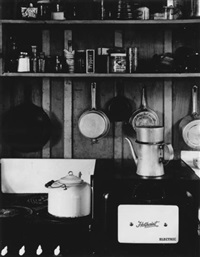 edward weston's kitchen by beaumont newhall