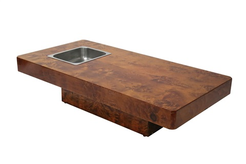 a louge coffee table by willy rizzo