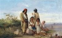 wallachische zigeuner in siebenbürgen by joseph wolfram