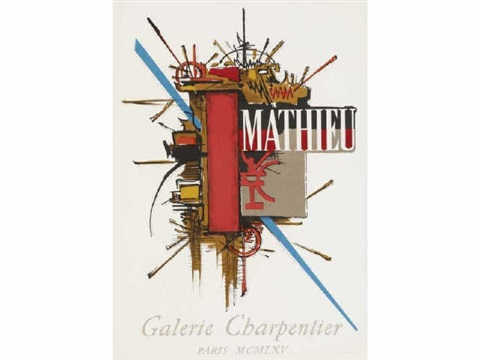 composition by georges mathieu