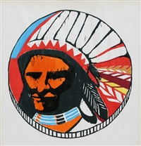 indian head by patricia golden