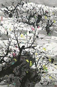 江南风光 by wu guanzhong