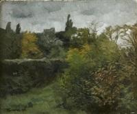 paysage by wilhelm trübner
