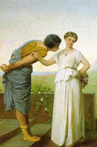flirtation by jean ernest aubert