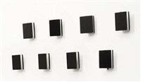 suite de huit appliques modèle cp1 à volets orientables (set of 8) by charlotte perriand