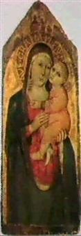 la madonna col bambino by pisan de taddeo di bartolo