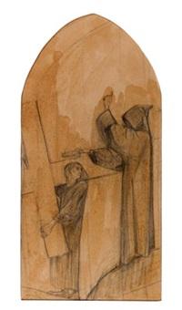 illustrazione per i fioretti di san francesco by duilio cambellotti