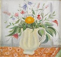 blomsterstilleben by arthur percy