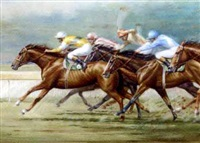 racing at ranwick by alister simpson