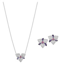 set of blossom jewelry (3 works) by cartier