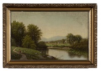 the delaware river by james mcdougal hart