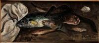 natura morta con pesci by vincenzo colucci