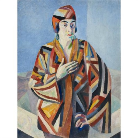 portrait de madame mandel by robert delaunay