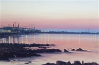evening dunlaoire skyline by brett mcentaggart