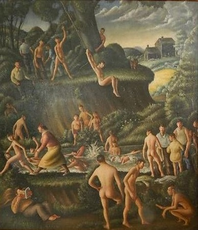 the old swimming hole by clyde singer