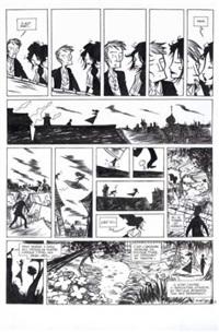 désespoir du singe, la nuit des lucioles, planche 39 by alfred