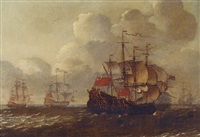 a naval engagement by philip van macheren
