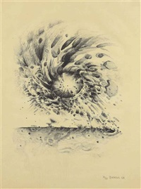 third stone by lee bontecou