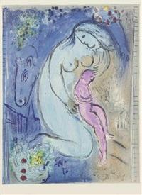 quai aux fleurs by marc chagall