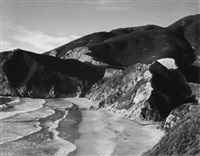 song without words #7 (road, big sur coastline) by minor white