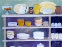 the kitchen shelves by charlotte ardizzone