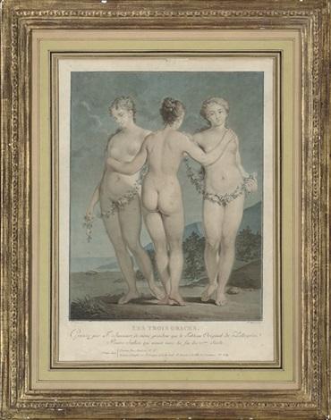les trois graces by jean françois janinet