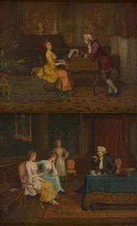 l'heure du thé et la leçon de piano (2 works) by jacques alsina