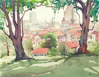 view from pearl's hill by lim cheng hoe