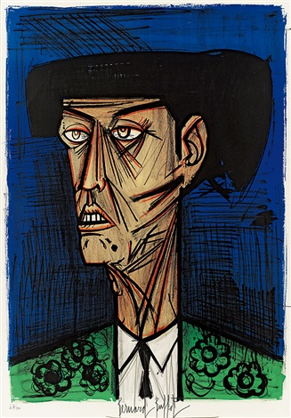鬥牛士 matador by bernard buffet