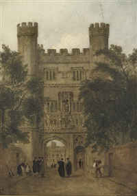 trinity gate, cambridge by joseph murray ince