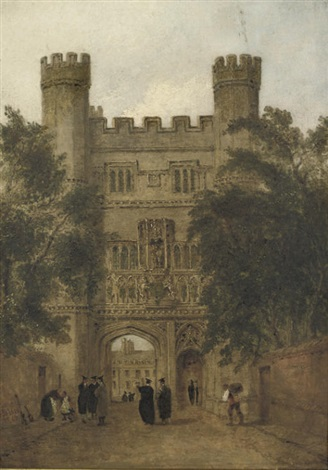 trinity gate cambridge by joseph murray ince