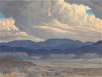 looking towards jemez by carl von hassler