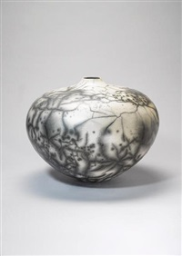 large globular vase by david roberts