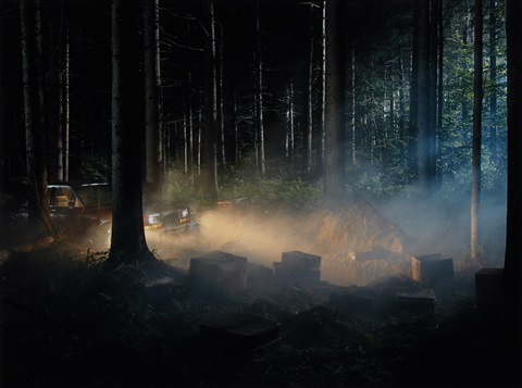 production still man in woods 4 by gregory crewdson