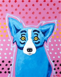 i wish i had a polka dot bikini by george rodrigue